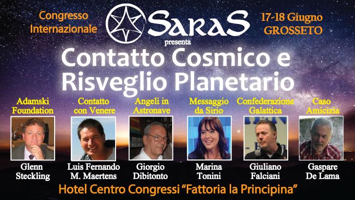 Contatto Cosmico e Risveglio planetario – Grosseto 17/18 Giugno 2017
